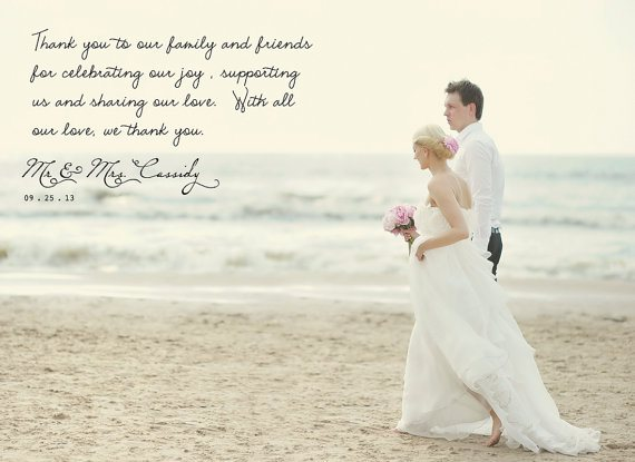 Wording For Wedding Thank You Cards No Gift : to plan for wedding thank you cards and how to put the right words
